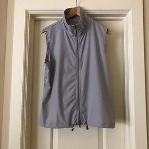 Zenergy Chicos Gray Shimmer Zip Vest